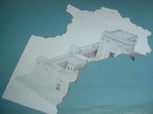 Ez a Szentély részlet egy peula maradványa 2002-ből…