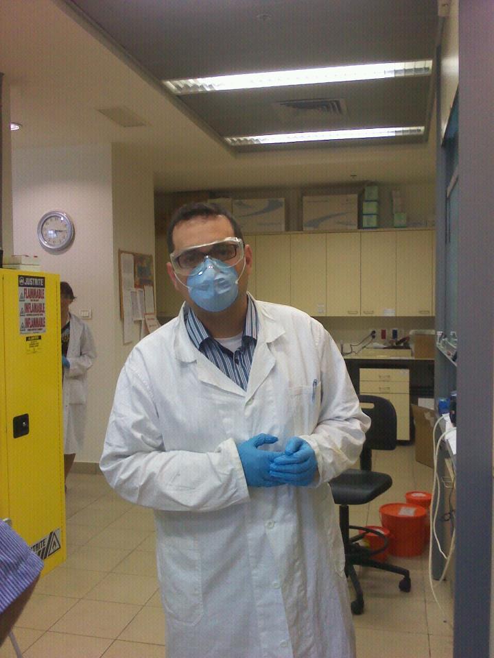 A megfáradt nanomunkás csütörtök délelőtt... ideje van a hétvégének