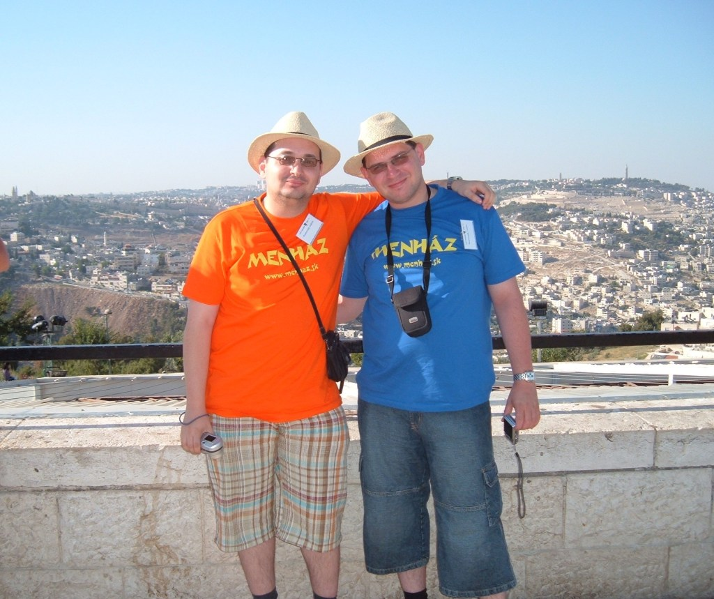 szerkesztői értekezlet Jeruzsálemben...